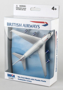 British Airways toy diecast aircraft Airbus A380 PPRT6008A