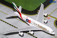 """Gemini Jets Emirates Airbus A380-800 """"FA Cup"""" A6-EER  Scale 1/400"""