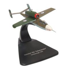 Oxford Diecast Heinkel HE162 Air Min 61 W.NR.120072 RAF 1945 Scale 1/72 OXAC076