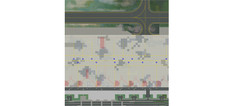 Herpa Airport ground Plates - Set 1: Passenger Terminal Scale 1/500