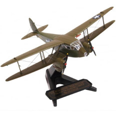 Oxford Diecast  DH89 Dragon Rapide X7454 USAAF  Wee Willie Scale 1/72 OX72DR015