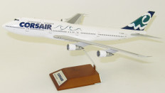 JC Wings Corsair Boeing 747-300 F-GSEA with stand Scale 1/200 JCLH2040