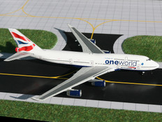 Gemini Jets British Airways Oneworld Boeing 747-400  Scale 1/400 GJBAW917