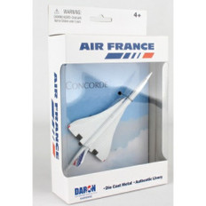 Air France Concorde toy diecast aircraft DAR98850
