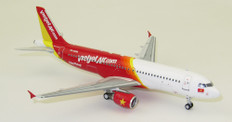 J Fox Models  VietJet Air Airbus A320-214 VN-A695 With Stand Scale 1/200 JFA320002