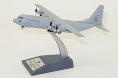 JFOX MALAYSIA AIR FORCE C-130H HERCULES (L-382) M30-4 WITH STAND SCALE 1/200 JFC130012
