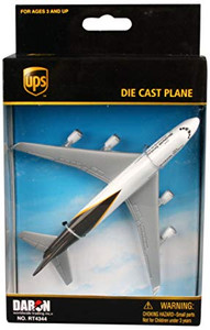 UPS toy diecast aircraft Boeing 747 RT4344