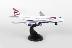 British Airways toy diecast aircraft Boeing 747 RT6004