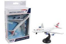 British Airways toy diecast aircraft Boeing 747 RT6004