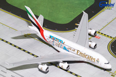 Gemini Jets Emirates Real Madrid A380-800 B-1086 Scale 1/400 GJUAE1762