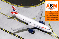 Gemini Jets British Airways  Airbus A320neo G-TTNA Scale 1/400 GJBAW1786