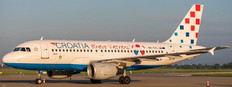 JC Wings Croatia Airlines Airbus A319 Bravo Vatreni Reg: 9A-CTL With Antenna Scale 1/400 JC4064