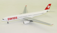 JFox Swiss Airbus A330-300 HB-JHA with stand Scale 1/200 JF-A330-003