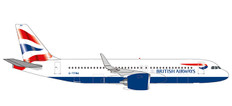 Herpa Wings British Airways Airbus A320 neo Scale 1/500 532808