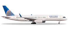 Herpa Wings United Airlines Boeing 757-200 Scale 1/500 532846