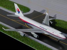 Gemini Jets Malaysia Boeing 747-400 Scale 1/400 GJMAS299