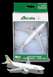 Alitalia toy diecast aircraft Airbus A321