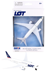 LOT Toy diecast aircraft Boeing 787 RT3514