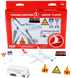 Turkish Airlines toy airport playset RT5401