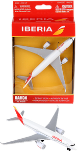 Iberia toy diecast aircraft Airbus A350 RT3724