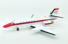 Inflight 200 Transport Canada Lockheed L-1329 Jetstar 6 C-FDTX with stand Scale 1/200 IF1400918