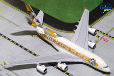 Gemini Jets Etihad Airbus A380-800 Year of Zayed A6-APH Scale 1/400 GJETD1813