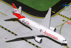 Gemini Jets Austrian airlines Boeing 777 200ER OE-LPF Scale 1/400 GJAUA1814