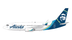 Gemini 200 Alaska Boeing 737-700 N614AS Scale 1/200 G2ASA778