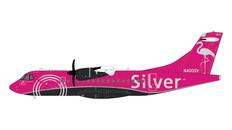Gemini 200 Silver ATR-72 N400SV Scale 1/200 G2SIL762