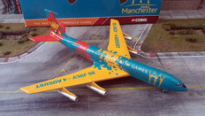 Corgi Commonwealth Games 2002 Boeing 707 Scale 1/144 AA32908