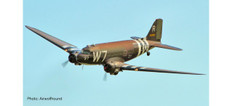 Herpa US Air Force Douglas C-47A Skytrain 316th Troop Carrier Group 37th Troop Carrier Squadron Operation Neptune D-Day 75th Anniversary Edition Scale 1/100 612296