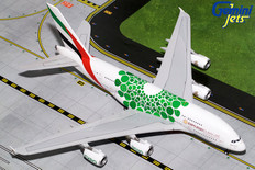 Gemini 200 Emirates Airbus A380 Green Expo A6-EEW Scale 1/200 G2UAE774