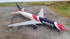 JC Wings New England Patriots Boeing 767-300(ER) N36NE With Stand Scale 1/200 JCP2193