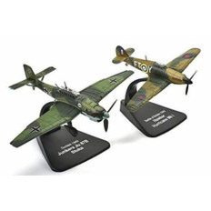 Dueling Fighters Dunkirk Hawker Hurricane and Stuka JU87B Scale 1/72