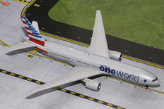 Gemini 200 American ONE WORLD Boeing 777-200ER N796AN Scale 1/200 G2AAL526