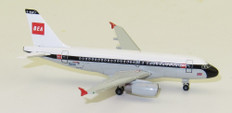 """Herpa Wings British Airways Airbus A319 """"100th"""" BEA design   Scale 1/500 533492"""