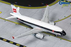 Gemini Jets British Airways BEA Retro Livery Airbus A319 G-EUPJ Scale 1/400 GJBAW1859