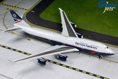Gemini 200 British Airways Landor Boeing 747-400 100 Years Scale 1/200 G2BAW840