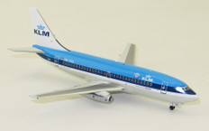 Inflight 200 KLM leased from Transavia Boeing 737-200 PH-TVX With Stand Scale 1/200 IF732KL0719