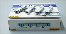 Fantasy Wings  White buses x4 in a set Scale 1/400 FWAA4001