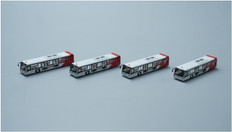 Fantasy Wings  Qantas buses x4 in a set Scale 1/400 FWAA4003