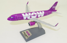 JFox Models WOW Airbus A320-251N TF-NEO with stand Scale 1/200 JFA320006