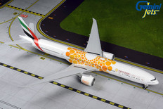 Gemini 200 Emirates Orange Expo 2020 Boeing 777-300ER A6-EPO Scale 1/200 G2UAE800
