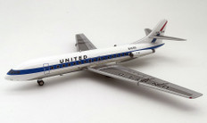 Inflight 200 United Caravelle SE210 N1019U With Stand Scale 1/200 IF210UA1218