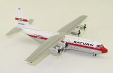 Inflight 200 Saturn Airways Hercules L100-30 L-382G  N10ST With Stand Scale 1/200 IF130KS0519