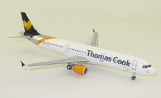 J Fox Models Thomas Cook Airlines Airbus A321-211 G-TCDY  with Stand Scale 1/200 JFA321005