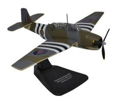 Oxford diecast Grumman Avenger J2490 855 Sqn Hawkinge FAA June 1944 Scale 1/72 AC099