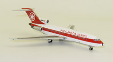 Blue Box Air Canada Cargo Boeing B727-100 C-GAGX With Stand Scale 1/200 WB721AC01