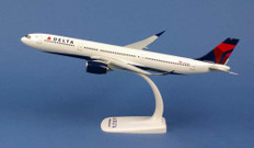 Herpa Snap-fit Delta Air Lines Airbus A330-900neo N401DZ Scale 1/200 612388