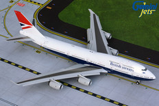 Gemini 200 British Airways Boeing 747-400 G-CIVB Flaps down Scale 1/200 G2BAW841F
